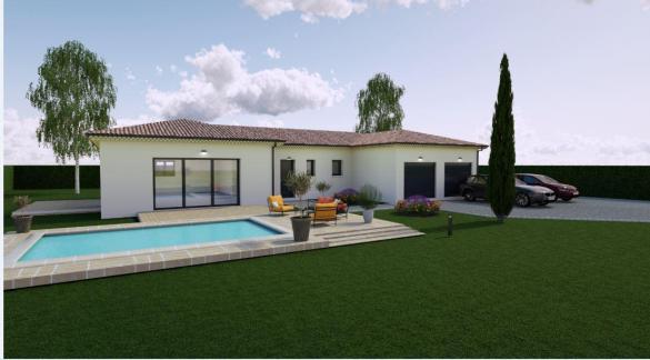 Maison à vendre .(100 m²)(L'ISLE SUR LA SORGUE) avec (TRADICONFORT SUD EST)