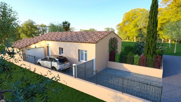 Maison à vendre .(101 m²)(BRIGNOLES) avec (TRADICONFORT 83)