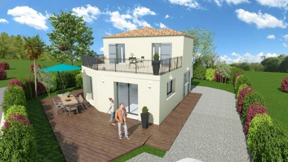 Maison à vendre .(91 m²)(SIX FOURS LES PLAGES) avec (TRADICONFORT 83)