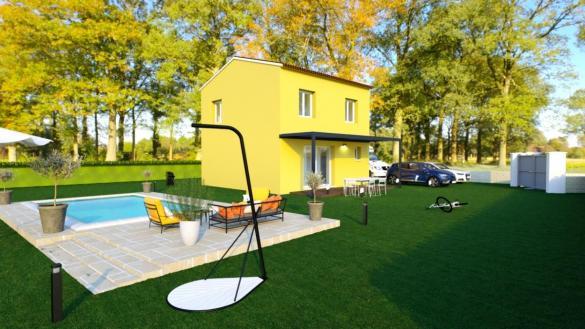 Maison à vendre .(80 m²)(FAYENCE) avec (TRADICONFORT 83)