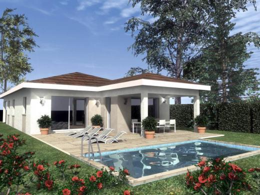 Maison à vendre .(95 m²)(CHATEAUNEUF DE GALAURE) avec (HABITAT PLUS 26)