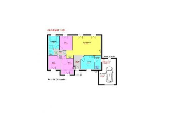Maison à vendre .(103 m²)(LEUDEVILLE) avec (MAISONS PIERRE - EVRY)