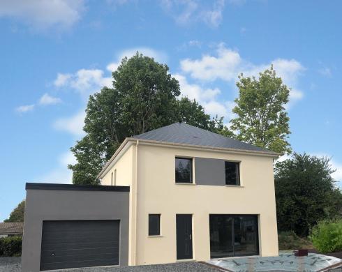 Maison+Terrain à vendre .(108 m²)(MONTFORT SUR MEU) avec (MAISON FAMILIALE RENNES)