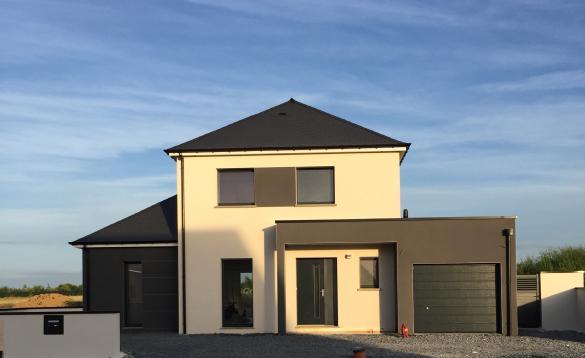 Maison+Terrain à vendre .(130 m²)(LANDUJAN) avec (MAISON FAMILIALE RENNES)