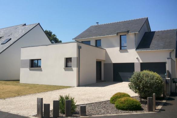 Maison+Terrain à vendre .(130 m²)(BAIN DE BRETAGNE) avec (MAISON FAMILIALE RENNES)