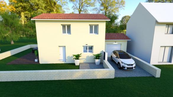 Maison à vendre .(97 m²)(MIONS) avec (ESQUISS 69)