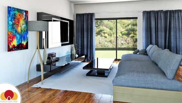 Maison+Terrain à vendre .(97 m²)(LA TESTE DE BUCH) avec (MAISON FAMILIALE)