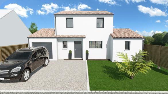 Maison+Terrain à vendre .(118 m²)(MOUZILLON) avec (Maison Familiale Nantes)