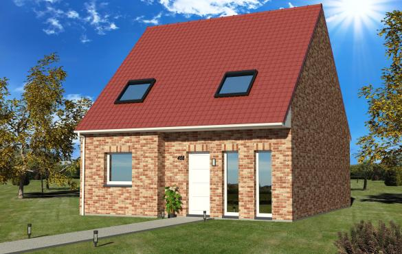 Maison+Terrain à vendre .(80 m²)(CAPPELLE EN PEVELE) avec (MAISON EUREKA)