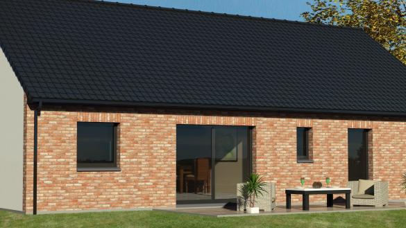 Maison+Terrain à vendre .(90 m²)(CANTIN) avec (MAISON EUREKA)