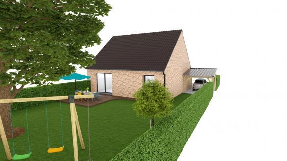 Maison+Terrain à vendre .(80 m²)(ESTAIRES) avec (MAISON EUREKA)