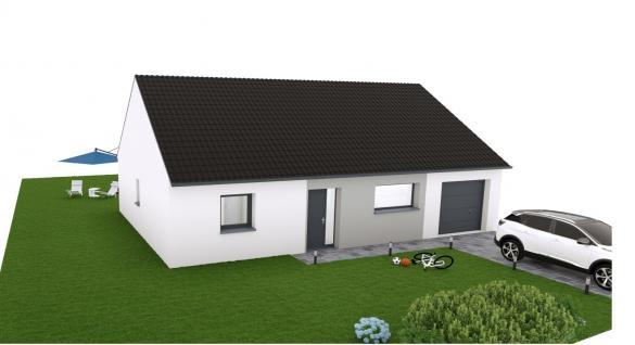 Maison+Terrain à vendre .(90 m²)(RAIMBEAUCOURT) avec (MAISON EUREKA)