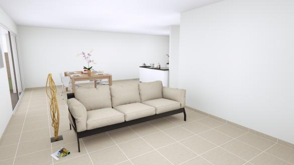 Maison+Terrain à vendre .(100 m²)(COURRIERES) avec (MAISON EUREKA)