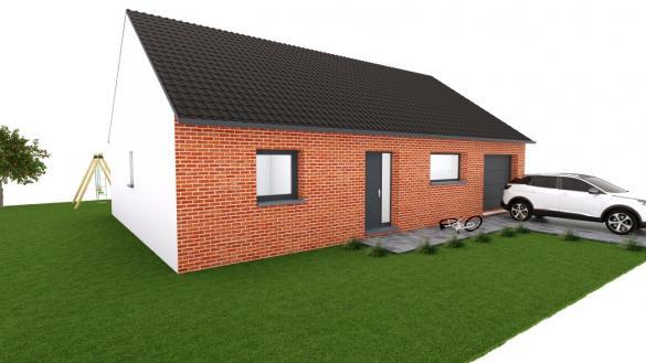 Maison+Terrain à vendre .(90 m²)(BAILLEUL) avec (MAISON EUREKA)