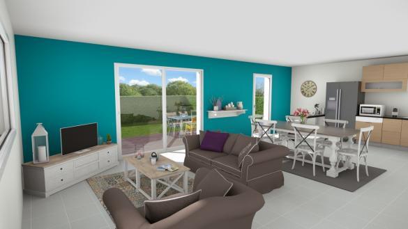 Maison+Terrain à vendre .(100 m²)(PHALEMPIN) avec (MAISON EUREKA)