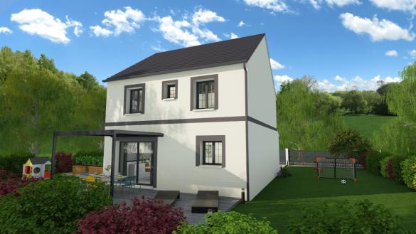 Maison à vendre .(86 m²)(ANCENIS) avec (DESIGN HABITAT)