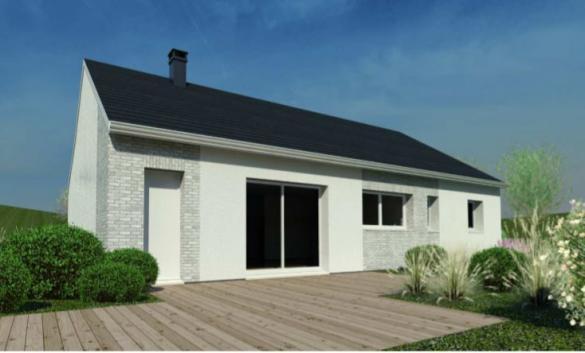 Maison à vendre .(88 m²)(CHATEAUBRIANT) avec (DESIGN HABITAT)