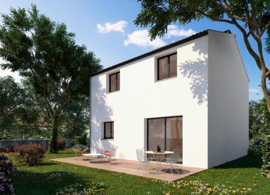 Maison à vendre .(92 m²)(LA LIMOUZINIERE) avec (DESIGN HABITAT)