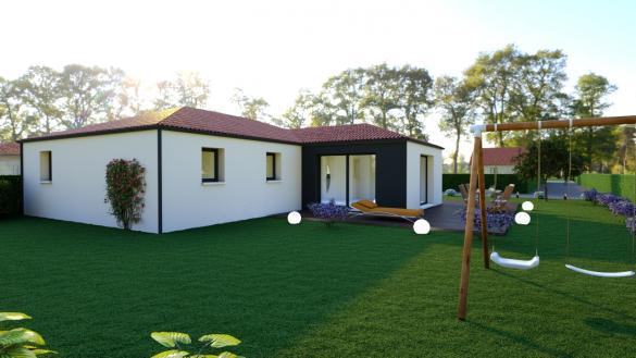 Maison à vendre .(99 m²)(LA LIMOUZINIERE) avec (DESIGN HABITAT)