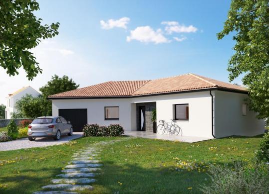 Maison à vendre .(106 m²)(LA LIMOUZINIERE) avec (DESIGN HABITAT)