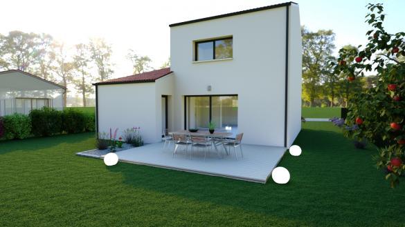 Maison à vendre .(100 m²)(LA LIMOUZINIERE) avec (DESIGN HABITAT)