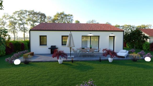 Maison à vendre .(80 m²)(TOUVOIS) avec (DESIGN HABITAT)