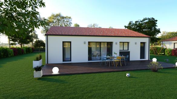 Maison à vendre .(93 m²)(SAINT JULIEN DE CONCELLES) avec (DESIGN HABITAT)