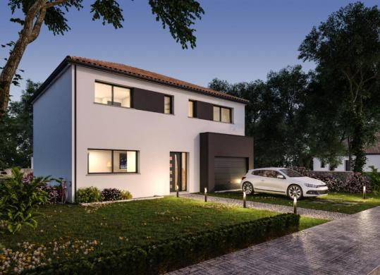 Maison à vendre .(112 m²)(SAINT JULIEN DE CONCELLES) avec (DESIGN HABITAT)