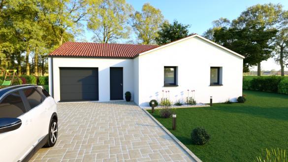 Maison à vendre .(92 m²)(LA CHEVROLIERE) avec (DESIGN HABITAT)