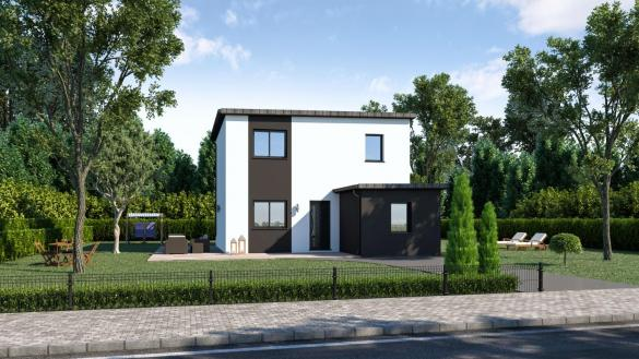 Maison à vendre .(125 m²)(SAUTRON) avec (DESIGN HABITAT)