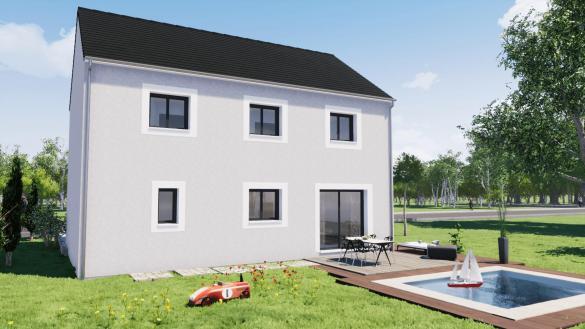 Maison+Terrain à vendre .(145 m²)(BREUIL BOIS ROBERT) avec (MAISON SMA)