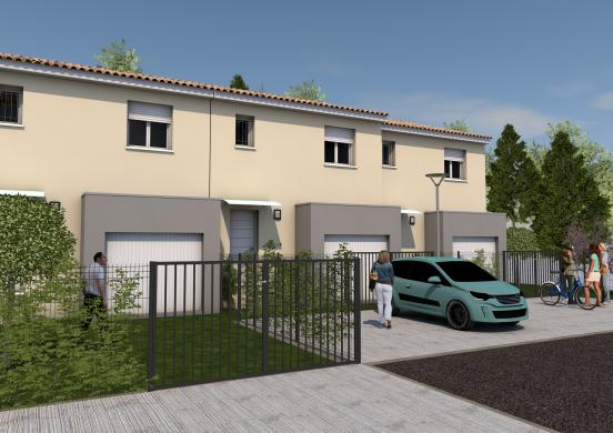 Maison+Terrain à vendre .(80 m²)(LUNEL VIEL) avec (Maisons Serge Olivier)