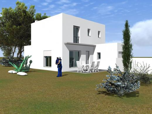 Maison+Terrain à vendre .(NIMES) avec (MAISONS CLAUDE RIZZON MEDITERRANEE)