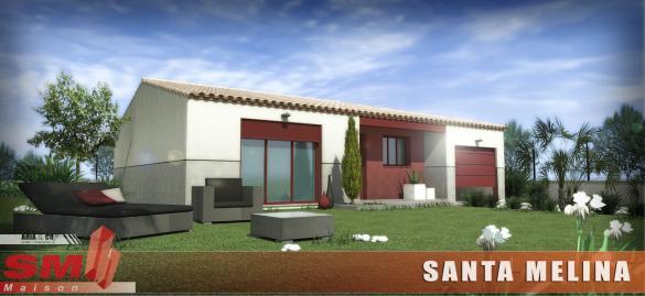 Maison+Terrain à vendre .(90 m²)(SIGEAN) avec (GROUPE SM PROMOTION)