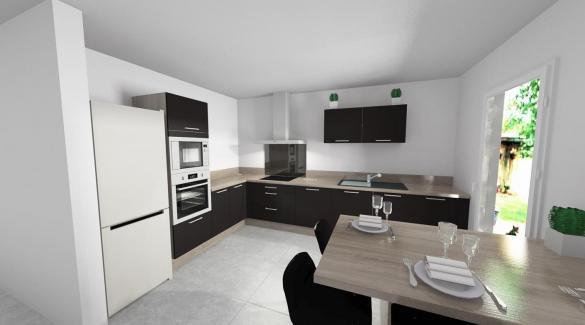 Maison+Terrain à vendre .(90 m²)(NARBONNE) avec (GROUPE SM PROMOTION)