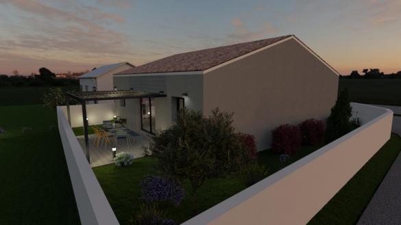 Maison+Terrain à vendre .(70 m²)(SIGEAN) avec (GROUPE SM PROMOTION)