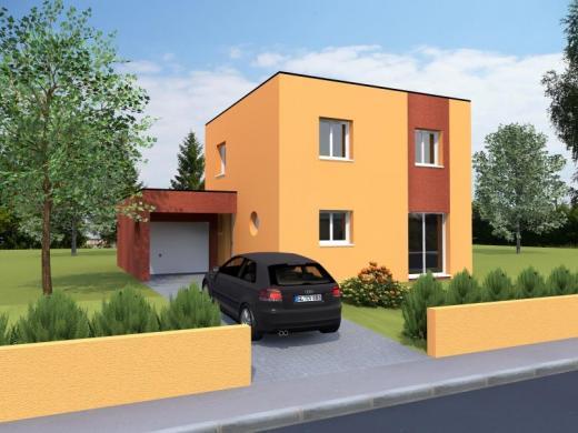 Maison à vendre .(93 m²)(METZ) avec (MAISONS NOBLESS)
