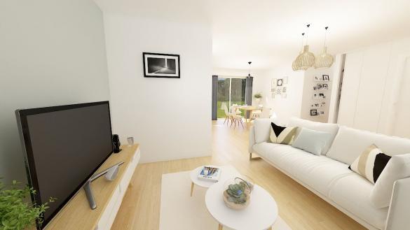 Maison+Terrain à vendre .(96 m²)(PROUVY) avec (Maisons Phénix Valenciennes)