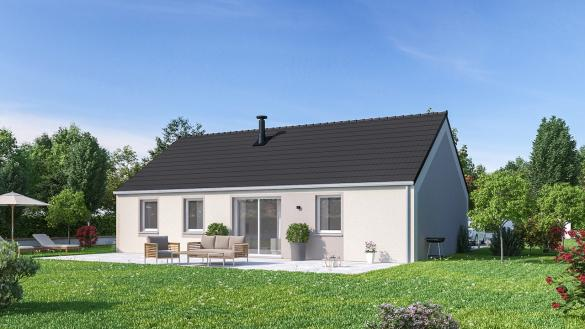 Maison+Terrain à vendre .(88 m²)(MASTAING) avec (Maisons Phénix Valenciennes)