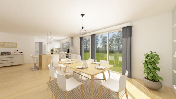 Maison+Terrain à vendre .(132 m²)(ORCHIES) avec (Maisons Phénix Valenciennes)
