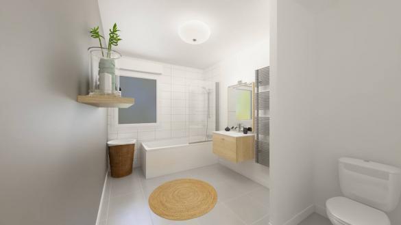 Maison+Terrain à vendre .(139 m²)(DOUCHY LES MINES) avec (Maisons Phénix Valenciennes)