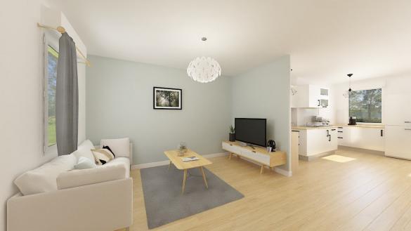 Maison+Terrain à vendre .(65 m²)(DOUCHY LES MINES) avec (Maisons Phénix Valenciennes)