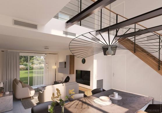 Maison+Terrain à vendre .(137 m²)(MASTAING) avec (Maisons Phénix Valenciennes)