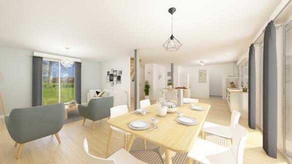 Maison+Terrain à vendre .(126 m²)(POIX DE PICARDIE) avec (Maisons Phénix Amiens)