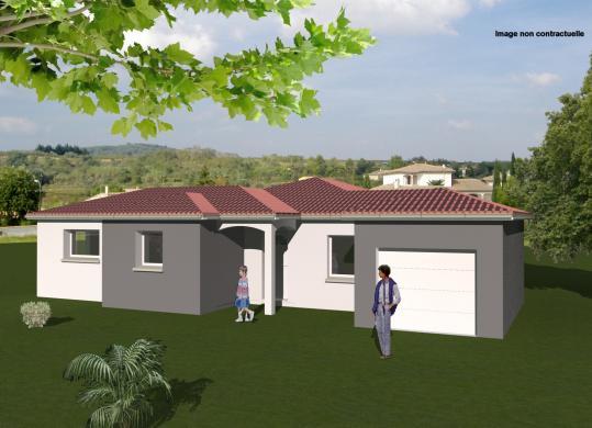 Maison+Terrain à vendre .(LEZOUX) avec (MAISONS CONCEPT 2000)