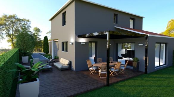 Maison+Terrain à vendre .(CEYRAT) avec (MAISONS CONCEPT 2000)