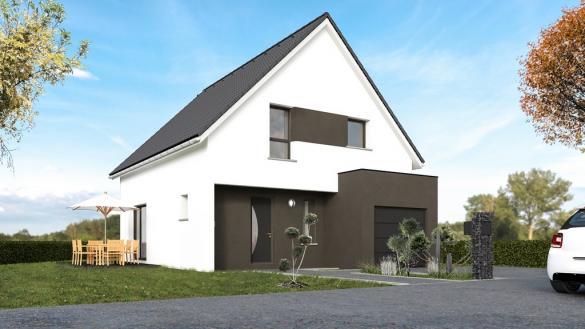 Maison+Terrain à vendre .(107 m²)(REGUISHEIM) avec (MAISONS CRISALIS)