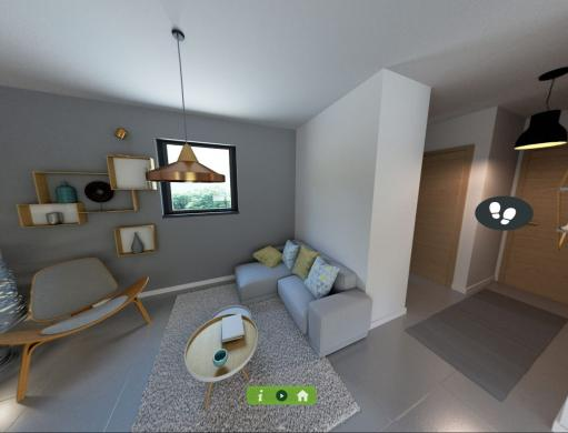 Maison+Terrain à vendre .(100 m²)(SAUSHEIM) avec (MAISONS CRISALIS)