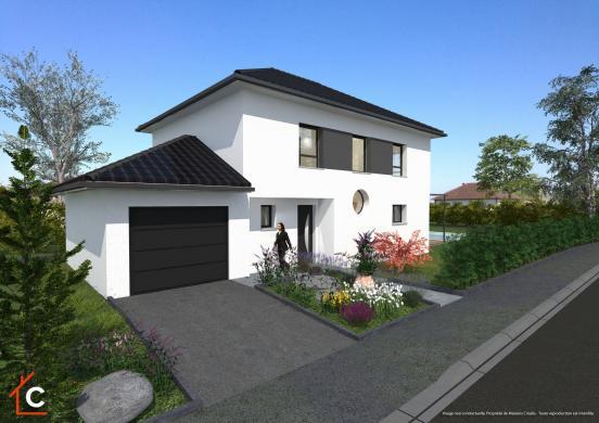 Maison+Terrain à vendre .(125 m²)(SCHLIERBACH) avec (MAISONS CRISALIS)