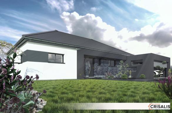 Maison+Terrain à vendre .(130 m²)(HOCHSTATT) avec (MAISONS CRISALIS)